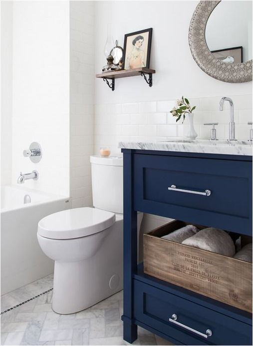 decorating with color navy blue  beneath my heart