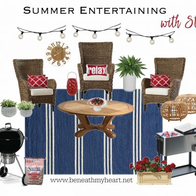Summer Entertaining with Style!  {Idea #2}