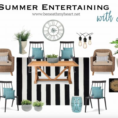 Summer Entertaining with Style!  {Idea #1}
