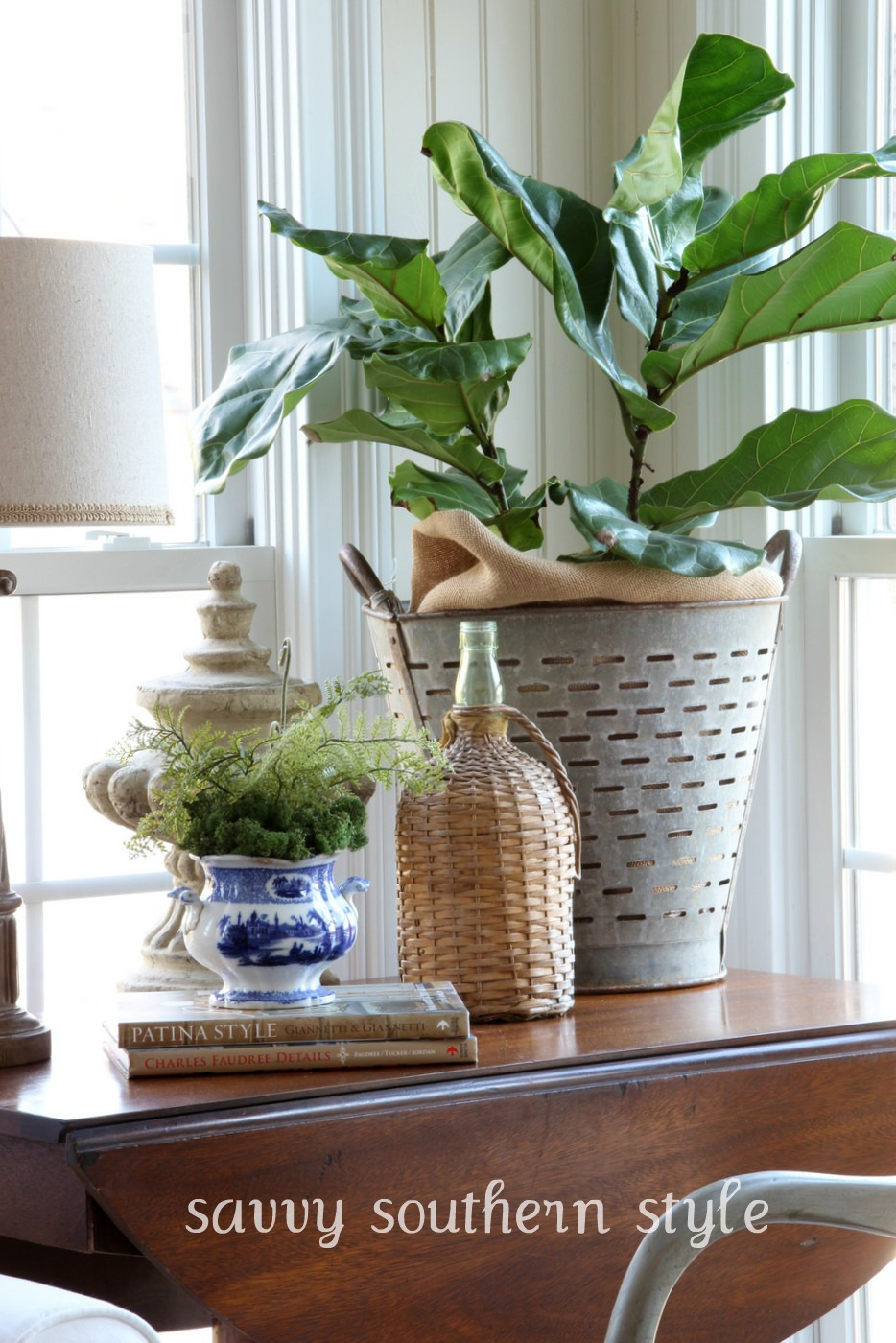 Get The Look Decorating With Olive Buckets Beneath My Heart