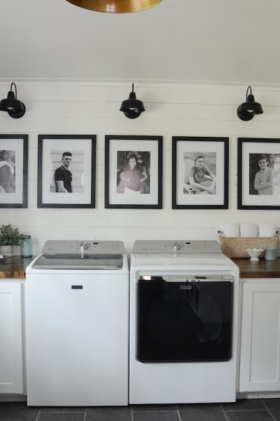 Modern Farmhouse Laundry Room Reveal!