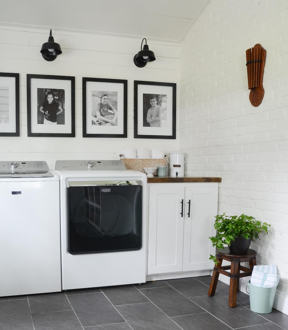 laundry hamper cabinet