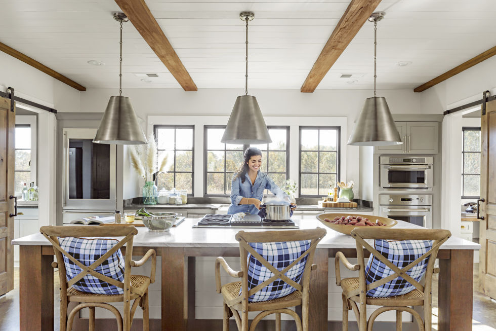 My dream barn house retreat beneath my heart for Modern barn kitchen