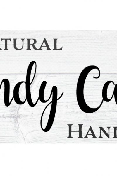 DIY Natural Candy Cane Hand Soap