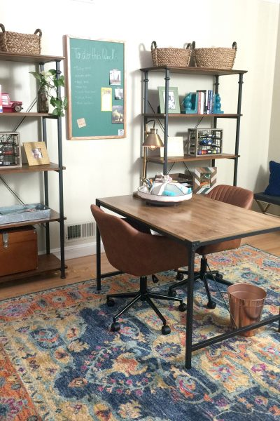 His and Her Workspace {with Wayfair!}
