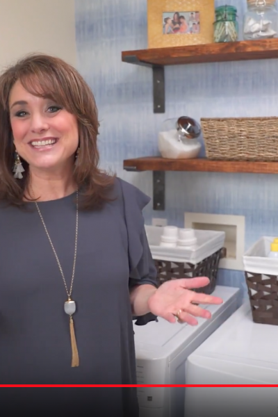 How to Make Over a Small Laundry Room