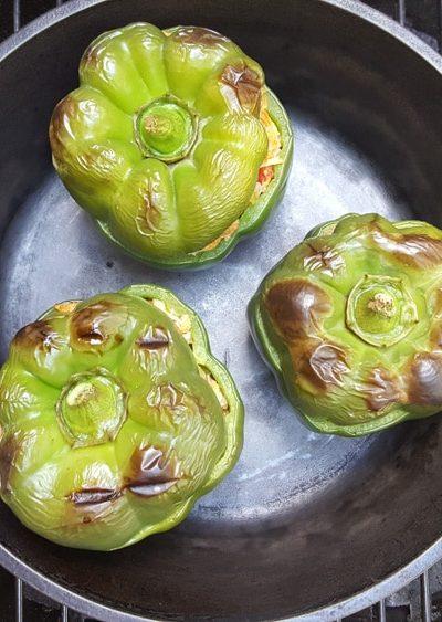 Jambalaya Stuffed Bell Peppers