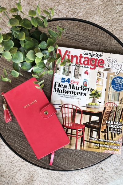 My Home is Featured in Cottage Style/Vintage Style Magazine!