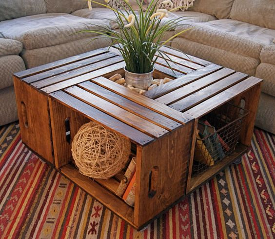 Easy Ways to Decorate with Wooden Crates