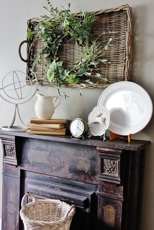 Using Baskets as Wall Decor
