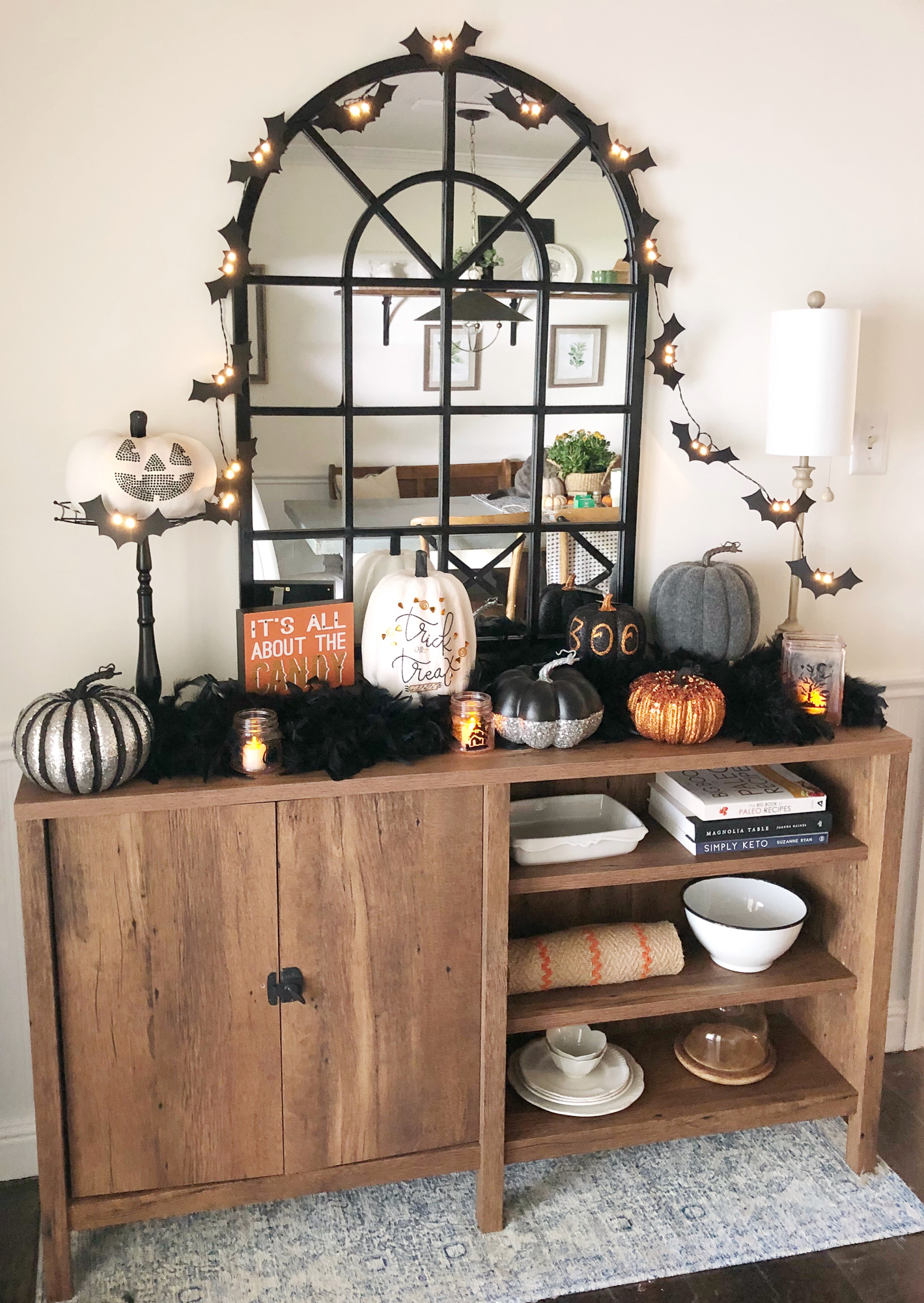 Fun And Easy Halloween Decor Beneath My Heart