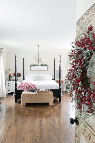 Our Christmas Master Bedroom – Seasons of Home Tour