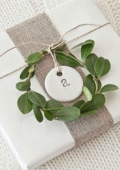 Simple DIY Christmas Gift Tag Ideas