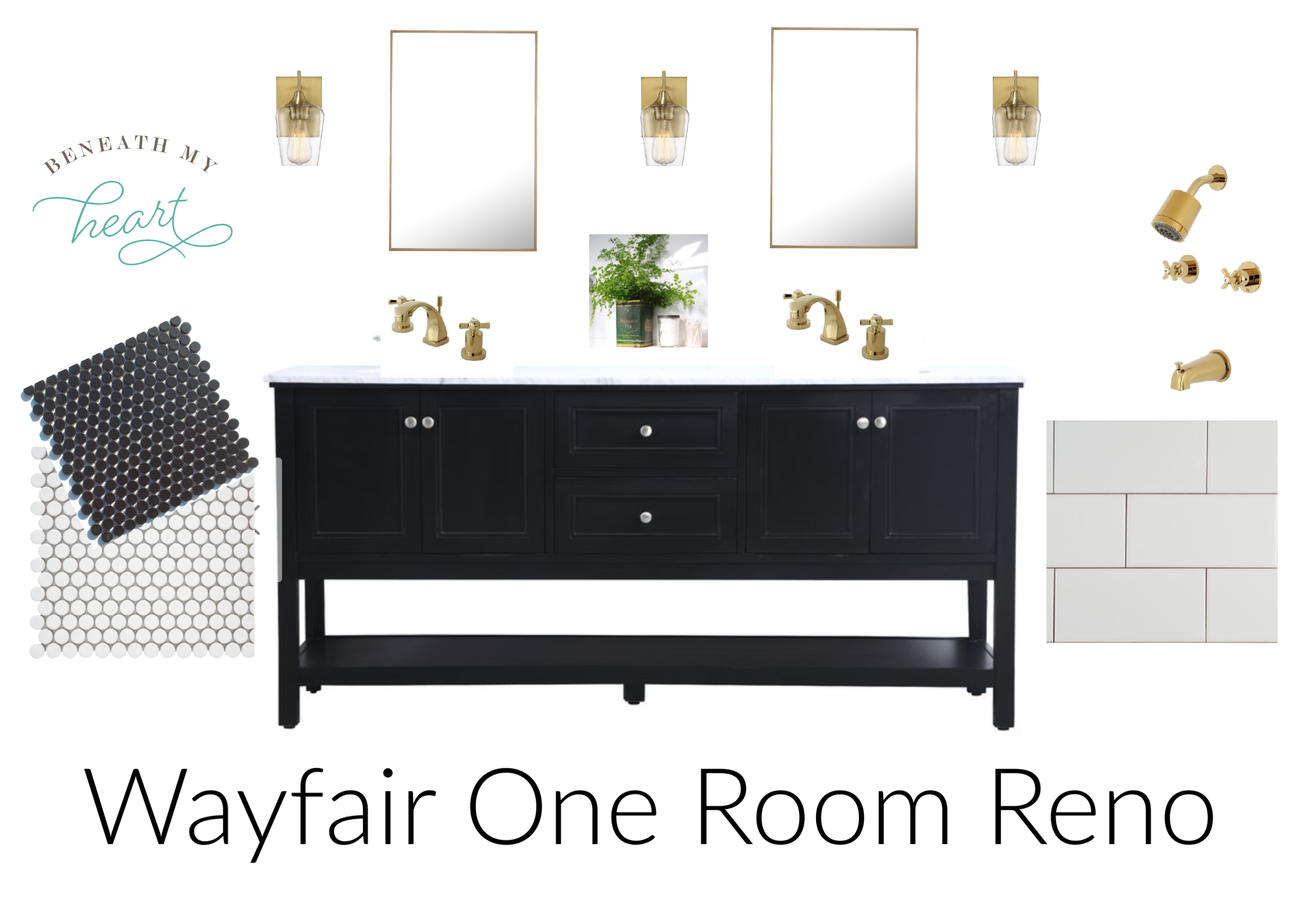 wayfair one room reno