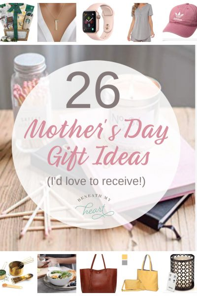 26 Mother's Day Gift Ideas (I'd Like to Receive!)