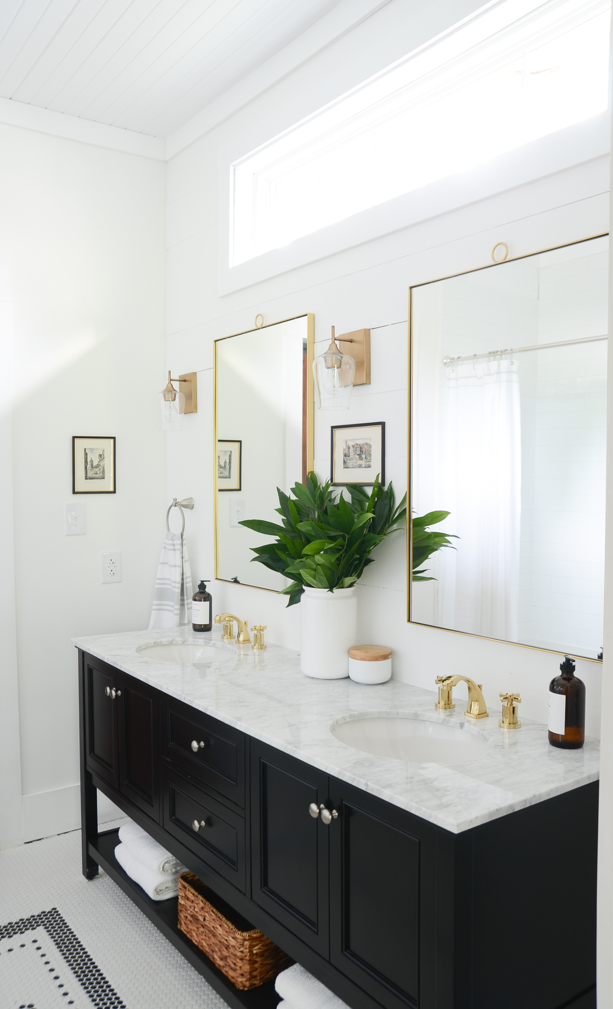wayfair one room reno bathroom makeover