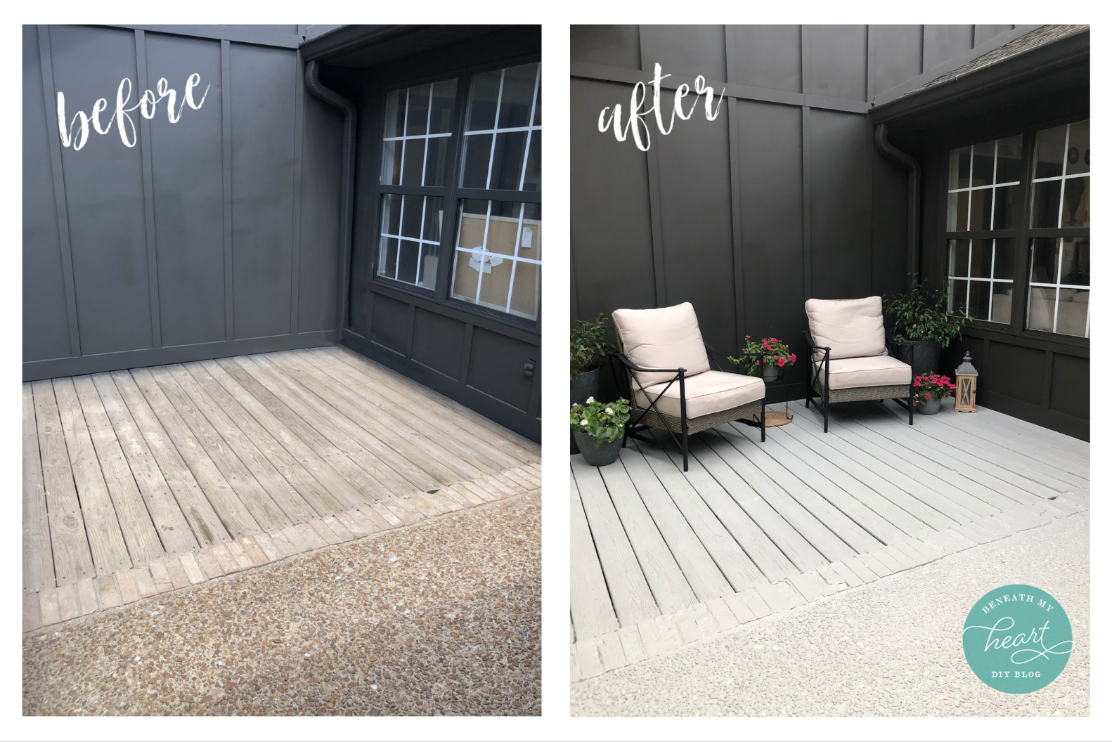 How to Update Your Concrete Patio or Wood Deck with Paint
