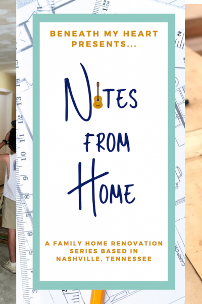 Notes from Home – Episode 4 {Demo for Days!}