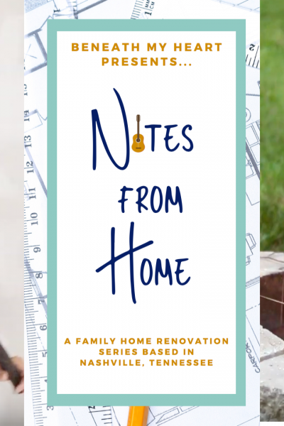 Notes from Home – Episode 5 {A Sledge Hammer and Marshmallows}
