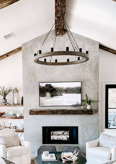Fireplace Makeover Ideas for our New Home