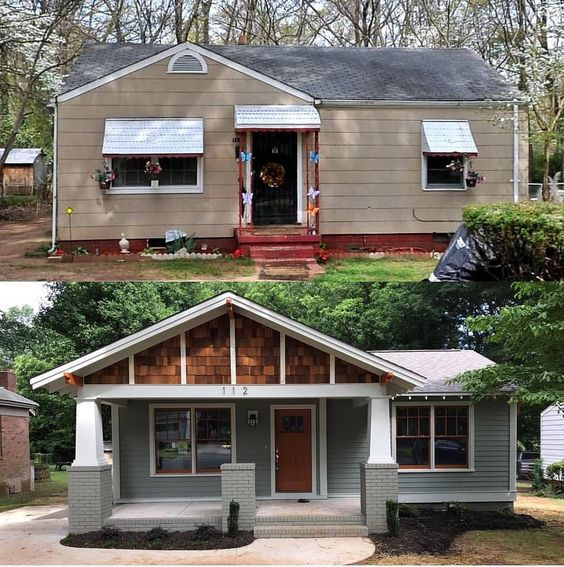 Front Porch Makeovers Beneath My Heart