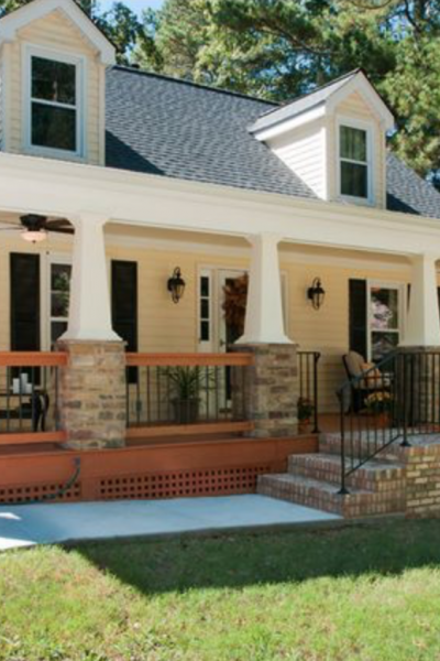 Before and After:  Front Porch Makeovers