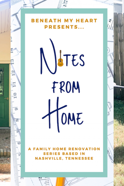 Notes from Home – Episode 8! {Home Exterior Project}
