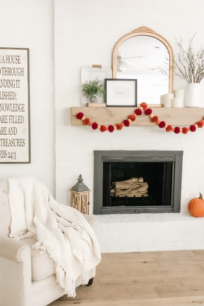 Our Fireplace Makeover Reveal