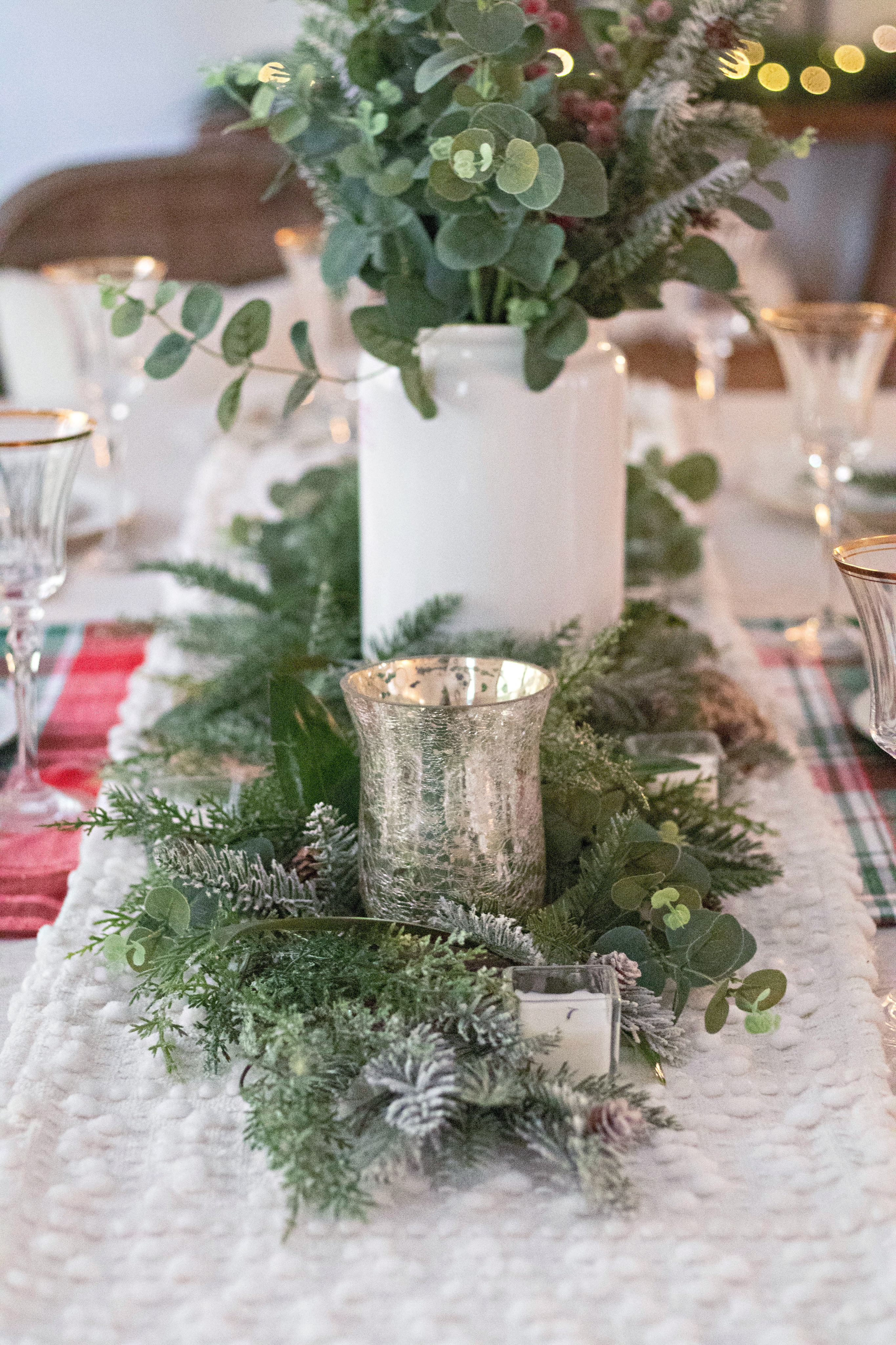 Tennessee  Christmas Tablescape