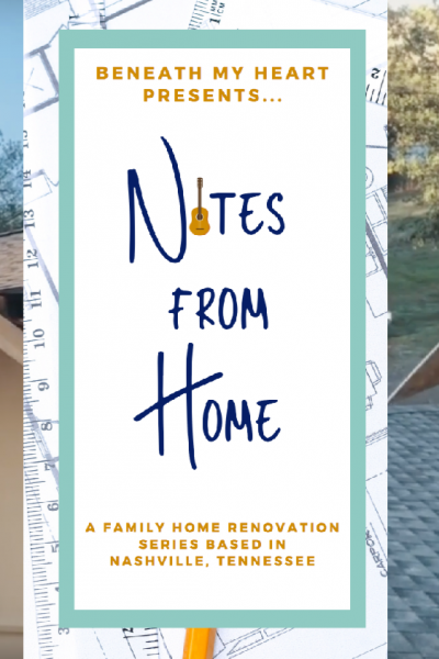 Notes from Home – Episode 15 {Building our New Front Porch!}