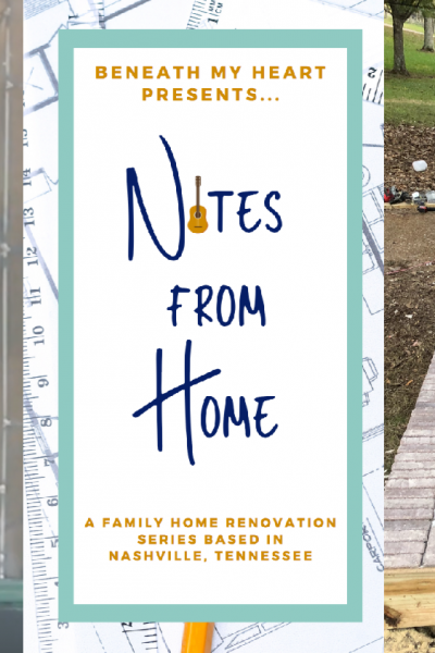 Notes from Home – Ep. 16 {Front Porch Decking}