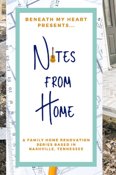 Notes from Home -Episode 17 {Chunky Columns}