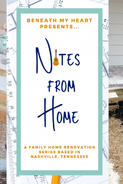 Notes from Home – Ep. 18 {Exterior Updates & Thanksgiving!}