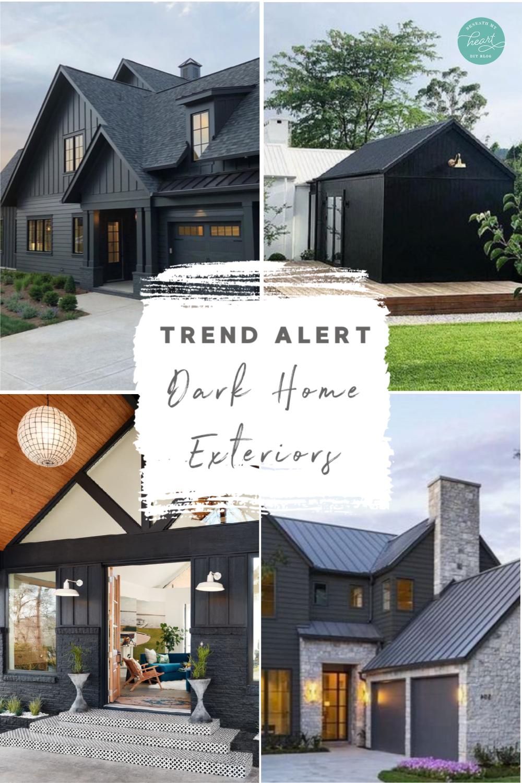 trend alert: dark home exteriors