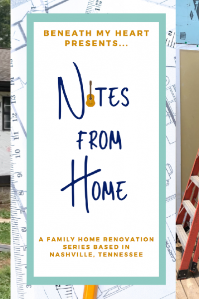 New Episode of Notes from Home! (Tearing down and Building up!)