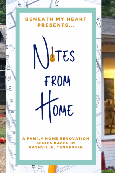 New Episode of Notes from Home! {New Patio Doors!}