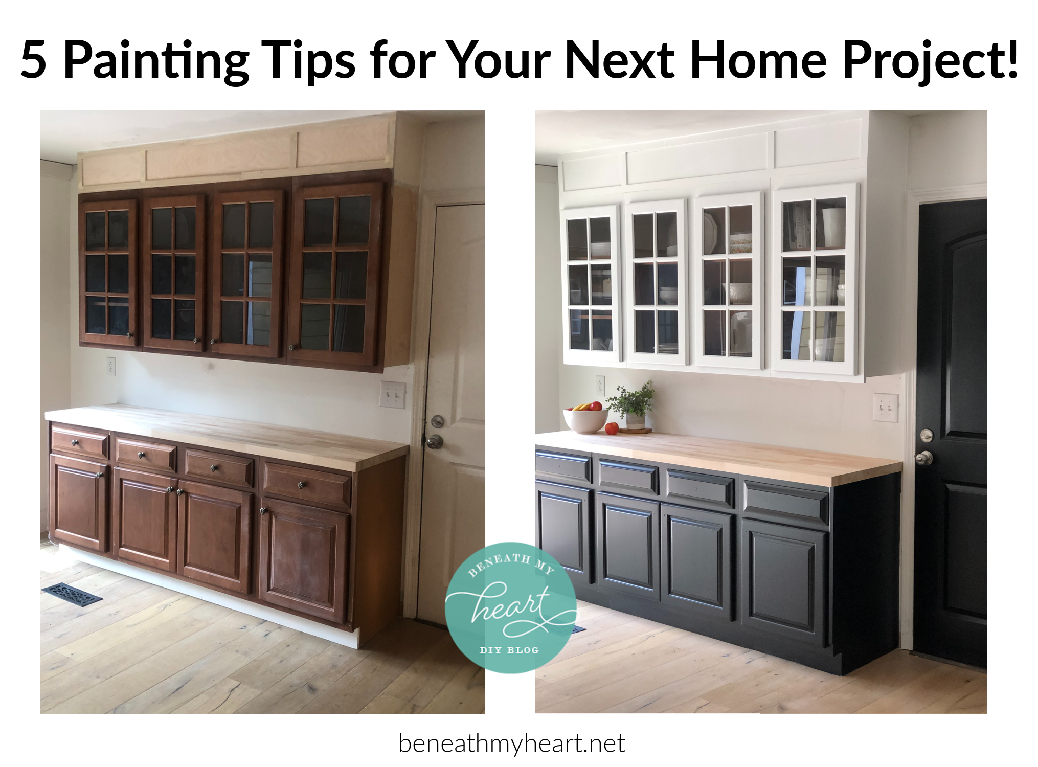 5 Paint Tips for Your Next Home Project!