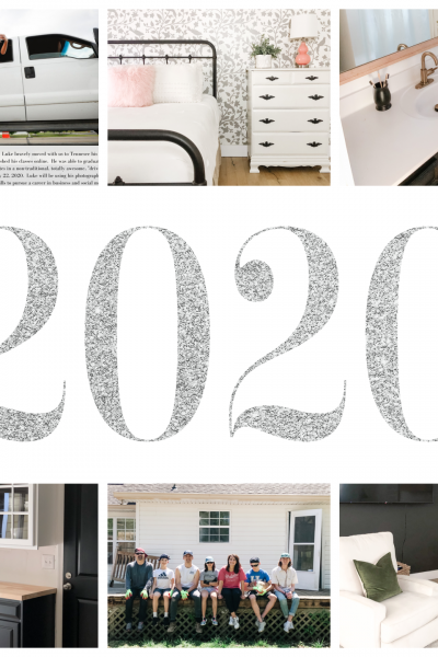 At look back at 2020 – What a year!