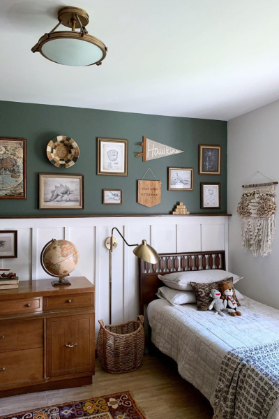 Painted Green Walls Inspiration!