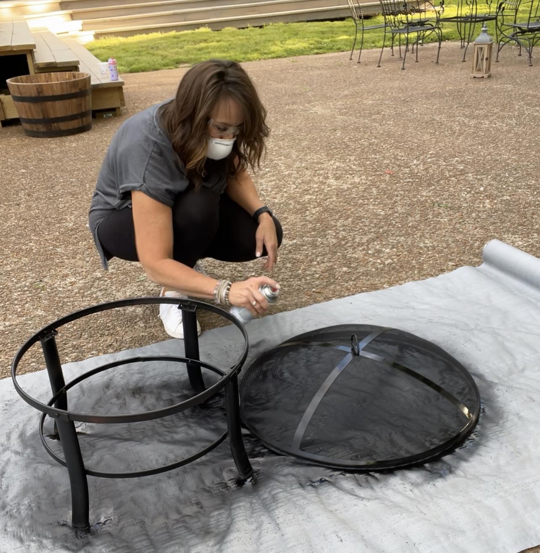 DIY Fire Pit Makeover