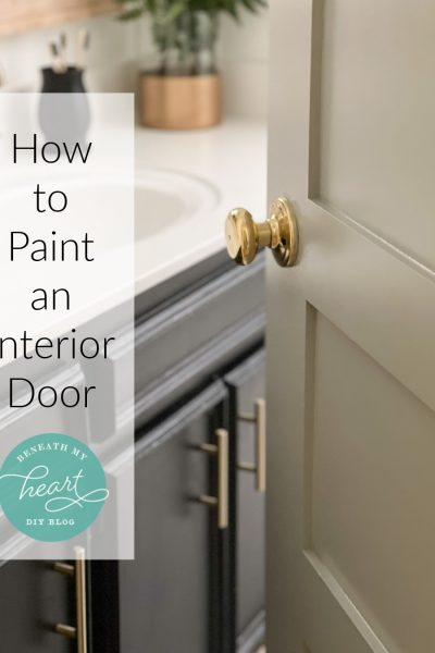 Steps to Painting a New Interior Paneled Door